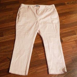 Lands'end Light Pink Ankle Pants Sz. 18P